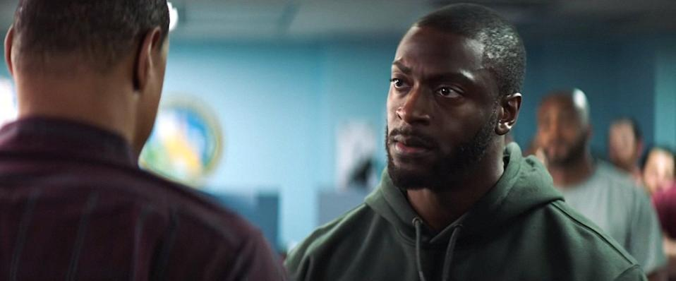"""<p>An inspirational true story, Brian Banks is on the brinks of joining the NFL when he's wrongly convicted and spends the following 10 years behind bars and probation. Determined to take his life back, Brian gets involved with the California Innocence Project.</p> <p><a href=""""http://www.hulu.com/movie/brian-banks-fae60290-4b61-4fec-a6d7-9df1a25e0bbd"""" class=""""link rapid-noclick-resp"""" rel=""""nofollow noopener"""" target=""""_blank"""" data-ylk=""""slk:Watch Brian Banks on Hulu."""">Watch <strong>Brian Banks</strong> on Hulu.</a></p>"""