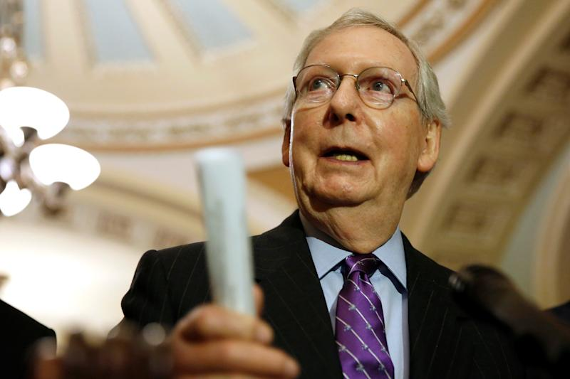McConnell: Senate GOP May Revisit Obamacare Repeal Depending on Outcome of Midterms