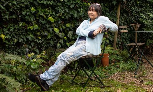 The Beginning of the And: Ali Smith and Sarah Wood light up Hay online