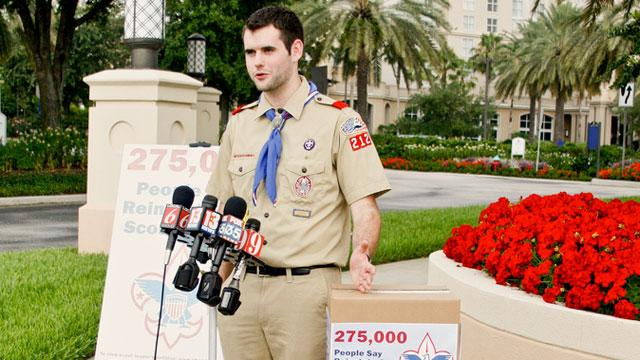 Boy Scouts Discusses Lifting Gay Ban