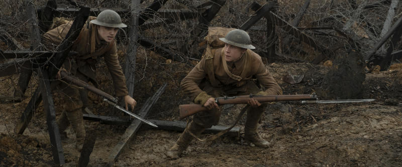 Fox complained about 1917, which is up for a Best Picture Oscar. (Photo: eOne)