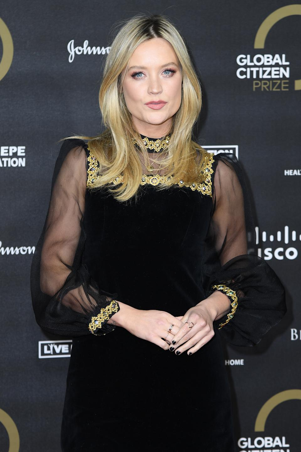 LONDON, ENGLAND - DECEMBER 13: Laura Whitmore attends the Global Citizen Prize 2019 at Royal Albert Hall on December 13, 2019 in London, England. (Photo by Gareth Cattermole/Getty Images)
