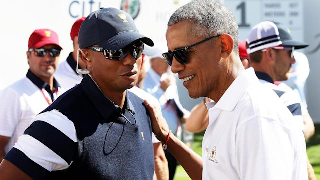 Golf Channel insider Tim Rosaforte reports on Tiger Woods' recent round at The Floridian in Palm City, Fla., alongside President Barack Obama.