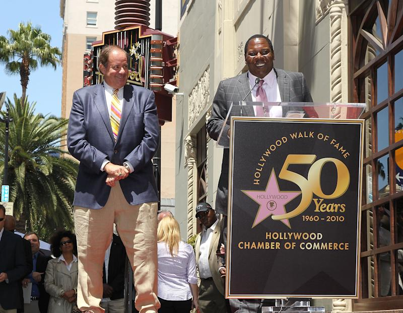 "Chris Berman, left, and Tom Jackson are reviving ESPN's ""NFL PrimeTime."" (Getty Images)"