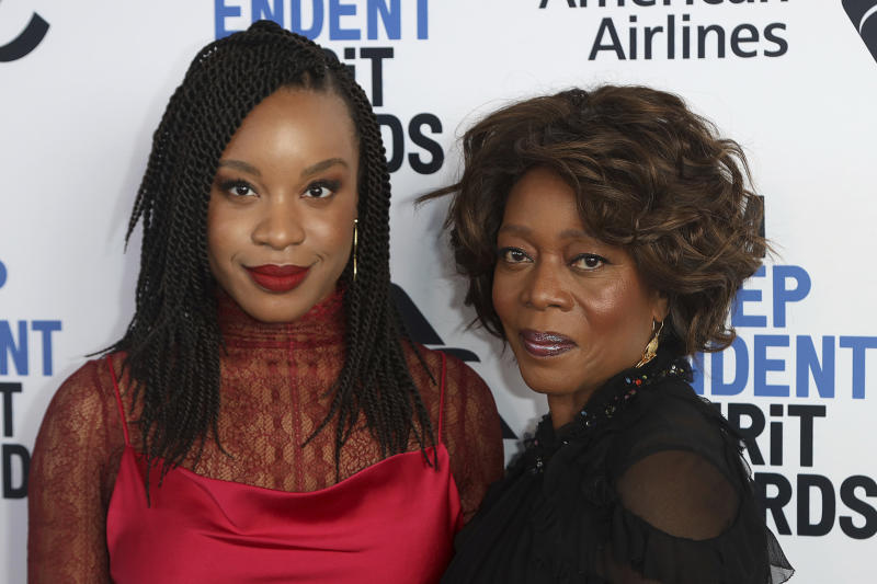 Chinonye Chukwu, left, and Alfre Woodard attend the 2020 Film Independent Spirit Awards Nominee Brunch at the Boa Steakhouse on Saturday, Jan. 4, 2020, in West Hollywood, Calif. (Photo by Willy Sanjuan/Invision/AP)
