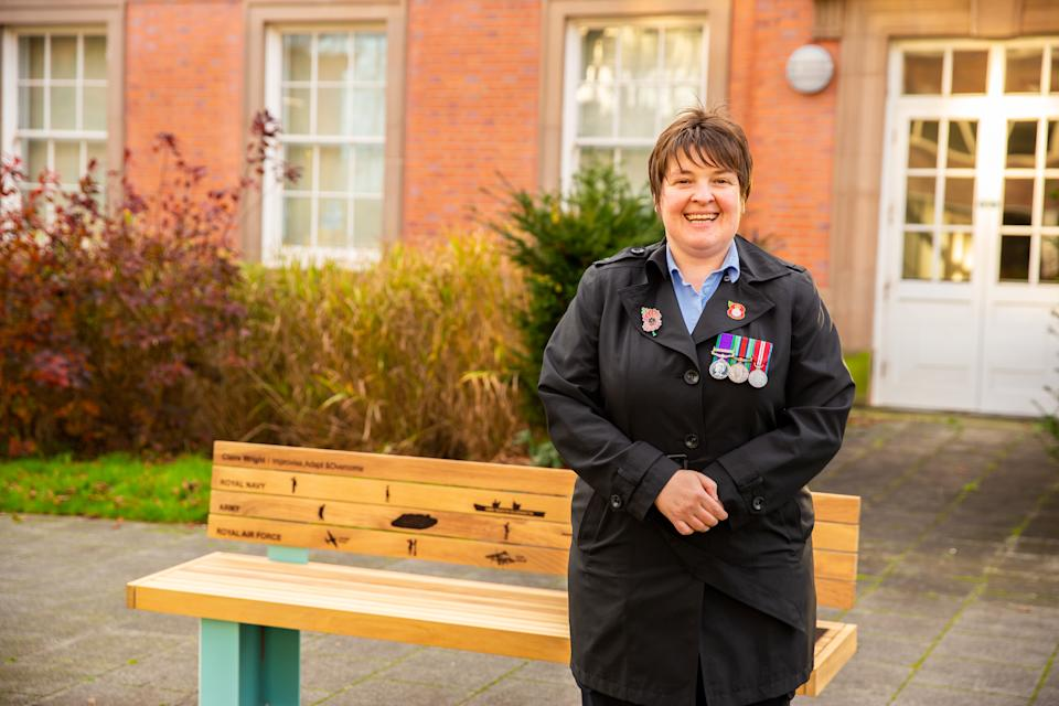 Claire Wright and Chris Squires have worked tirelessly to help elderly veterans across Greater Manchester