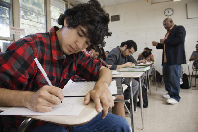 While Canadian students showed above-average performance in reading skills, some provinces scored much lower. (Getty)