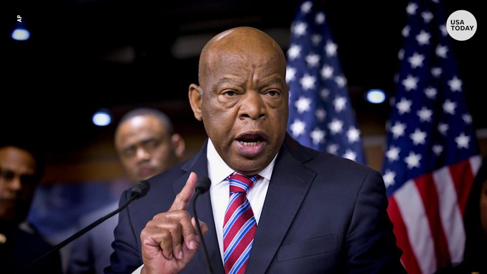 Rep. John Lewis, a civil rights icon who served more than three decades in Congress
