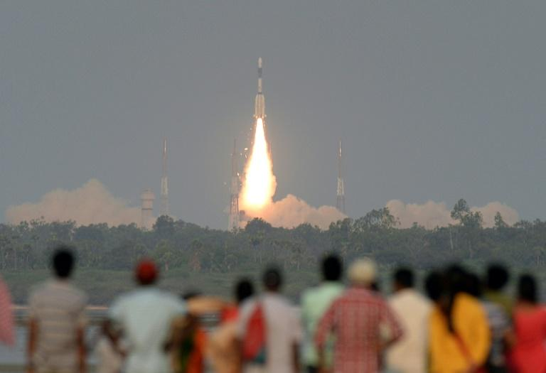 The Indian space agency fired off  a satellite launch vehicle from the southern state of Andhra Pradesh in March