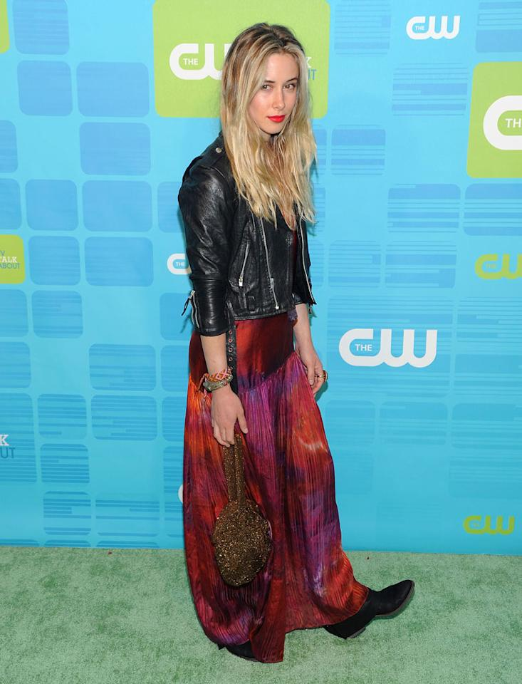 "<a href=""/gillian-zinser/contributor/2470230"">Gillian Zinser</a> (""<a href=""/90210/show/43006"">90210</a>"") attends the 2010 The CW Upfront at Madison Square Garden on May 20, 2010 in New York City."