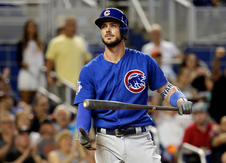Kris Bryant not happy about service time manipulation.