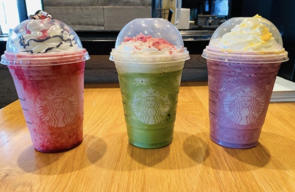 How to Order A Trio Of 'Hocus Pocus' Frapps From Starbucks This Fall