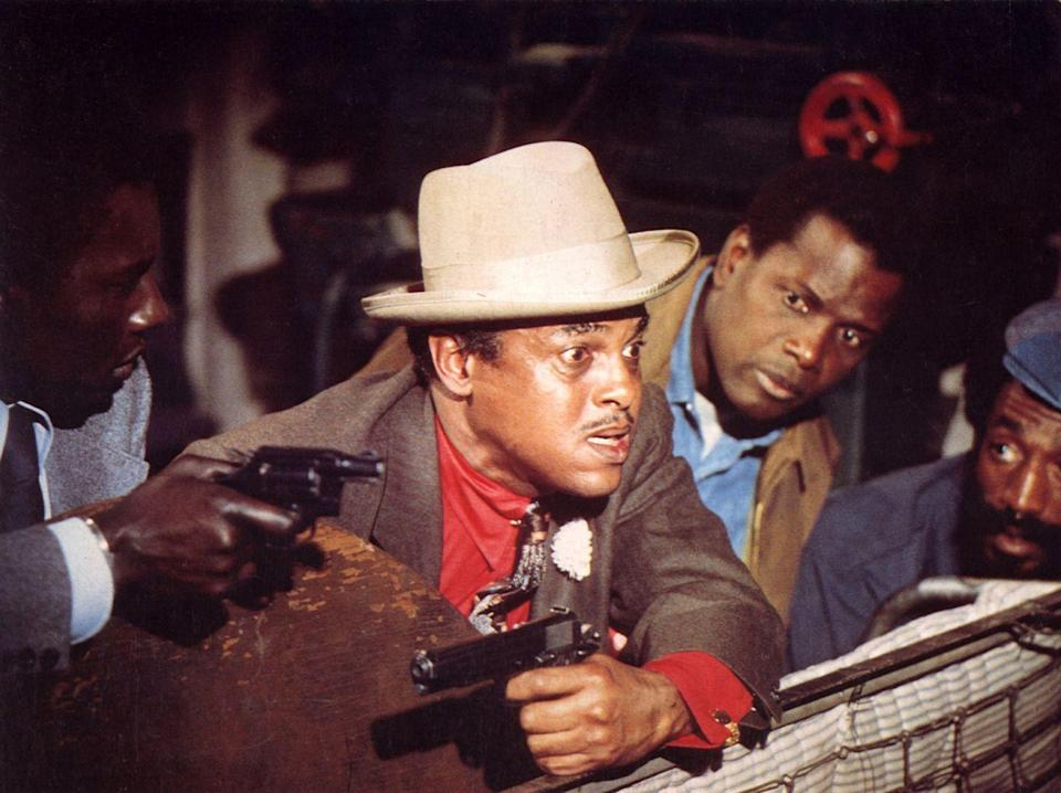 <p>Sidney Poitier brought the crime comedy film <em>Uptown Saturday Night</em> to life in 1974. Due to the success of the film, Poitier returned to direct and star in two subsequent films.</p>