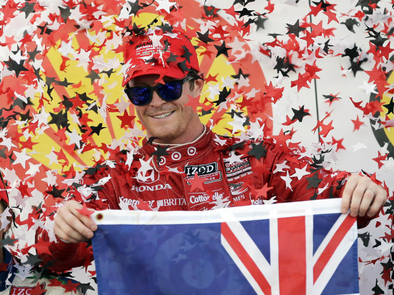 Dixon opens title defense without Franchitti