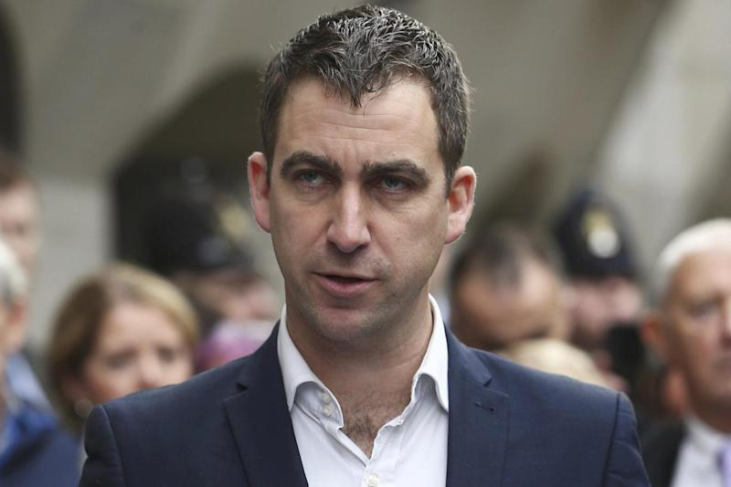 Brendan Cox left his role at Save the Children over allegations of inappropriate behaviour (Neil Hall/Reuters)