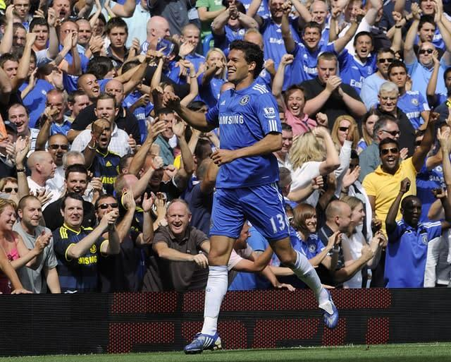 Michael Ballack won the Premier League in 2010. (Rebecca Naden/PA)