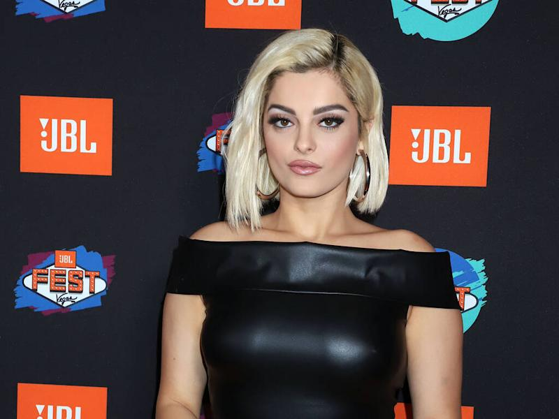 Bebe Rexha returns to work following hospital stay