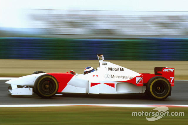 "McLaren MP4/11 (1996) <span class=""copyright"">LAT Images</span>"