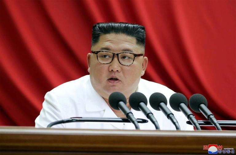 North Korean leader Kim Jong Un said the world would soon 'witness a new strategic weapon' (AFP Photo/KCNA)