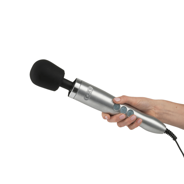 """Reviewers say this magic wand is worth every penny, because it delivers powerful, rumbling vibrations to all your pleasure zones. Adjust them from low to high with easy-to-control speed settings and you'll be good to go.<br /><br />Note: This massager also comes with a power cord, so you'll never have to worry about it running out of juice!<br /><br /><strong>Get it from Bellesa Boutique for<a href=""""https://go.skimresources.com?id=38395X987171&xs=1&url=https%3A%2F%2Fwww.bboutique.co%2Fsex-toys%2Fwomens-vibrators%2Fwand-vibrators%2Fdoxy-die-cast-massager-4102445170797&xcust=HPJobDoneSexToy60917222e4b09cce6c237436"""" target=""""_blank"""" rel=""""nofollow noopener noreferrer"""" data-skimlinks-tracking=""""5406082"""" data-vars-affiliate=""""AWIN"""" data-vars-campaign=""""SexToysGetJobDone-McAnaw-4-2-20-5406082-"""" data-vars-href=""""https://www.awin1.com/cread.php?awinmid=15527&awinaffid=304459&clickref=SexToysGetJobDone-McAnaw-4-2-20-5406082-&p=https%3A%2F%2Fwww.bboutique.co%2Fproduct%2F4102445170797%2Fdoxy-die-cast-massager%3F"""" data-vars-keywords=""""fast fashion"""" data-vars-link-id=""""0"""" data-vars-price="""""""" data-vars-redirecturl=""""https://www.bboutique.co/product/4102445170797/doxy-die-cast-massager?"""" data-orig-url=""""https://www.awin1.com/cread.php?awinmid=15527&awinaffid=304459&clickref=SexToysGetJobDone-McAnaw-4-2-20-5406082-&p=https%3A%2F%2Fwww.bboutique.co%2Fproduct%2F4102445170797%2Fdoxy-die-cast-massager%3F"""" data-ml-id=""""17"""">$219</a>(available in four colors).</strong>"""