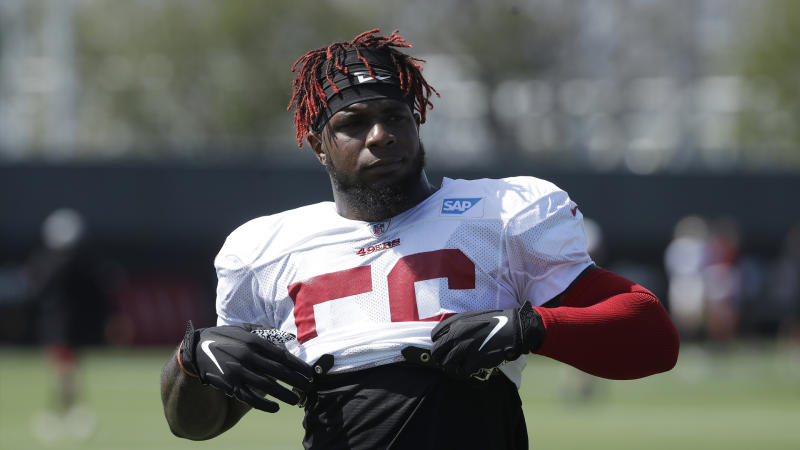 online store 47f80 d490e Why 49ers' Kwon Alexander isn't stressing Buccaneers reunion ...