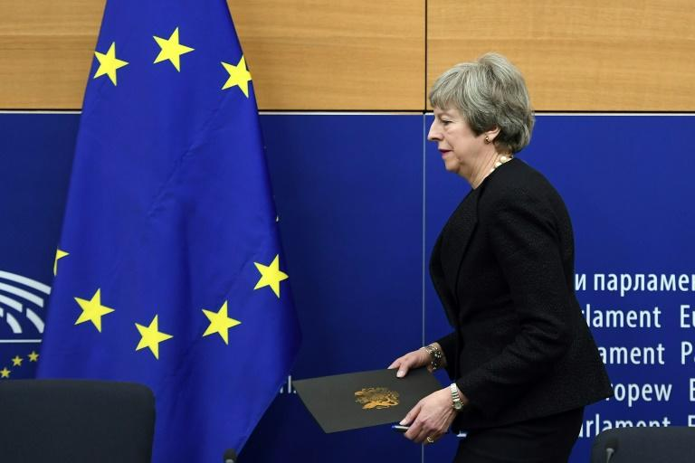 British Prime Minister Theresa May says she secured legal binding changes to the so-called backstop for the Irish border