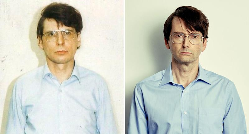 David Tennant is the spitting image of Dennis Nilsen in ITV's Des. (ITV)