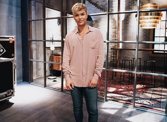 Jack Vidgen on The Voice Australia 2019