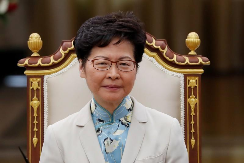 Hong Kong Chief Executive Carrie Lam visits Bangkok