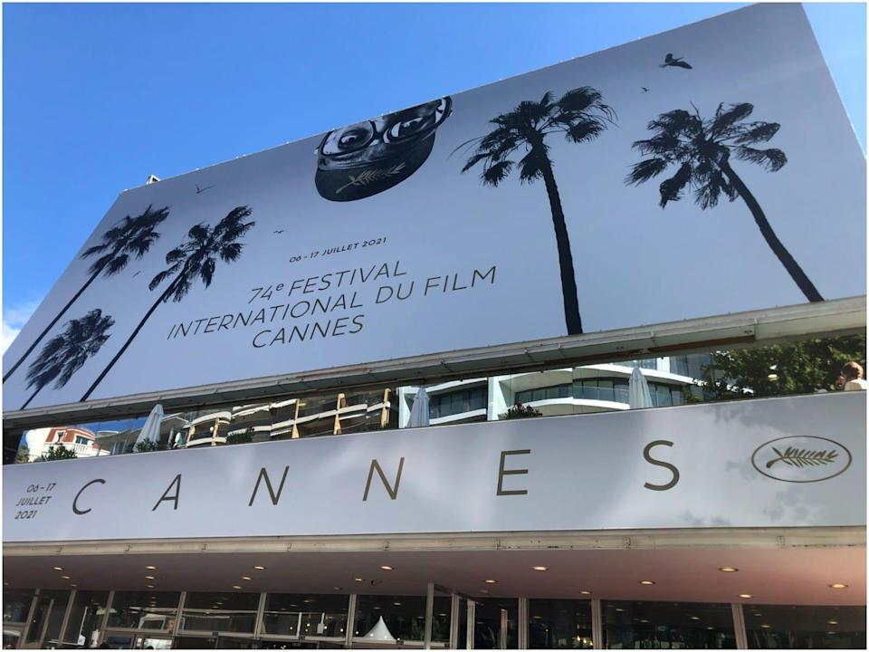 Cannes main sign