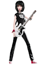"<div class=""caption-credit""> Photo by: barbiecollector.com</div><b>Joan Jett doll, released in 2009 for $34.95</b> <br> She loves rock and roll, and this doll looks like she does too. The shag hairstyle is great, and they remembered Joan would never be caught dead in Barbie pumps."