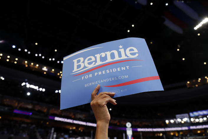 At the Democratic National Convention in Philadelphia, July 2016. (Photo: Carolyn Kaster/AP)