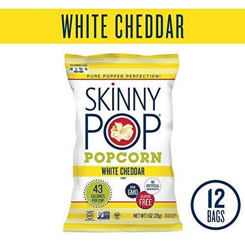 "<p><strong>SkinnyPop</strong></p><p>amazon.com</p><p><strong>$14.99</strong></p><p><a href=""http://www.amazon.com/dp/B00OSVIJIM/?tag=syn-yahoo-20&ascsubtag=%5Bartid%7C2089.g.35651204%5Bsrc%7Cyahoo-us"" rel=""nofollow noopener"" target=""_blank"" data-ylk=""slk:Shop Now"" class=""link rapid-noclick-resp"">Shop Now</a></p><p>Great news for any vegans craving the feeling of powdered cheese stuck to their fingertips while they snack: This low-calorie popcorn is made with non-dairy cheddar flavor!</p><p><em>Per 1 bag: 150 cals, 9 g fat (1 g sat), 15 g carbs, 0 g sugar, 160 mg sodium, 2 g fiber, 2 g protein. </em></p>"