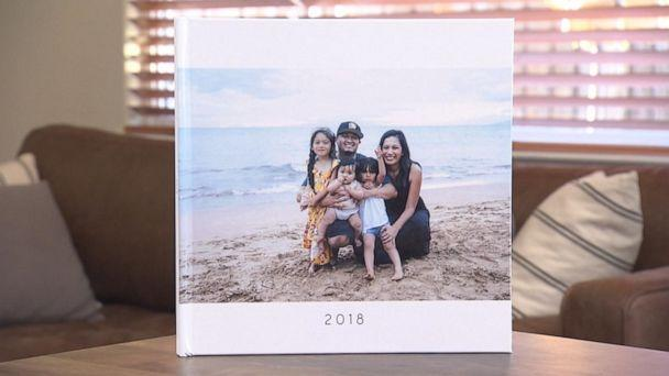 Sheila Madrigal from Morgan Hill, California, Sheila Madrigal ordered a photo book from Mixbook. (ABC)