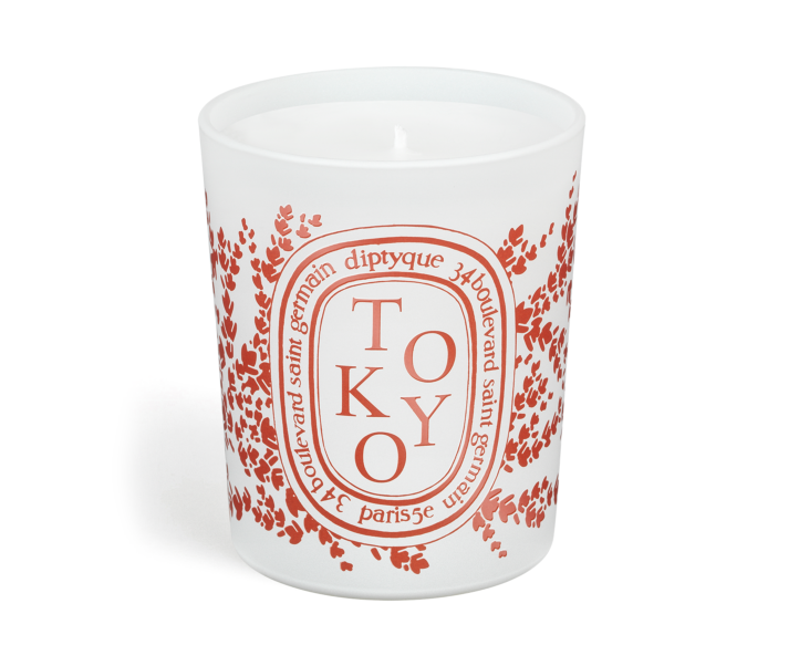 """<p><strong>diptyque</strong></p><p>diptyqueparis.com</p><p><strong>$76.00</strong></p><p><a href=""""https://go.redirectingat.com?id=74968X1596630&url=https%3A%2F%2Fwww.diptyqueparis.com%2Fen_us%2Fp%2Ftokyo-candle.html&sref=https%3A%2F%2Fwww.townandcountrymag.com%2Fstyle%2Fg36132547%2Fdiptyque-city-candles-spring-2021-relaunch%2F"""" rel=""""nofollow noopener"""" target=""""_blank"""" data-ylk=""""slk:SHOP NOW"""" class=""""link rapid-noclick-resp"""">SHOP NOW </a></p><p>Enjoy Japan's cypress trees with the musky notes of Diptyque's Tokyo candle.</p>"""