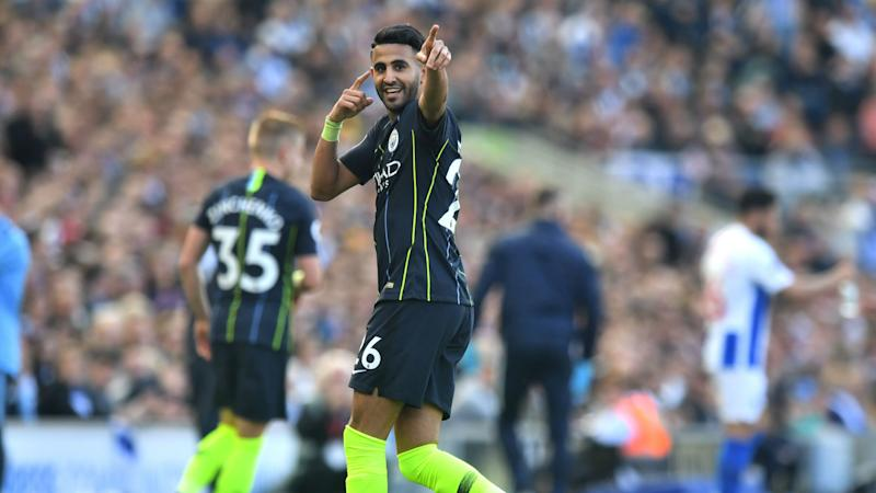 Unlikely hero Mahrez happy to play waiting game at City