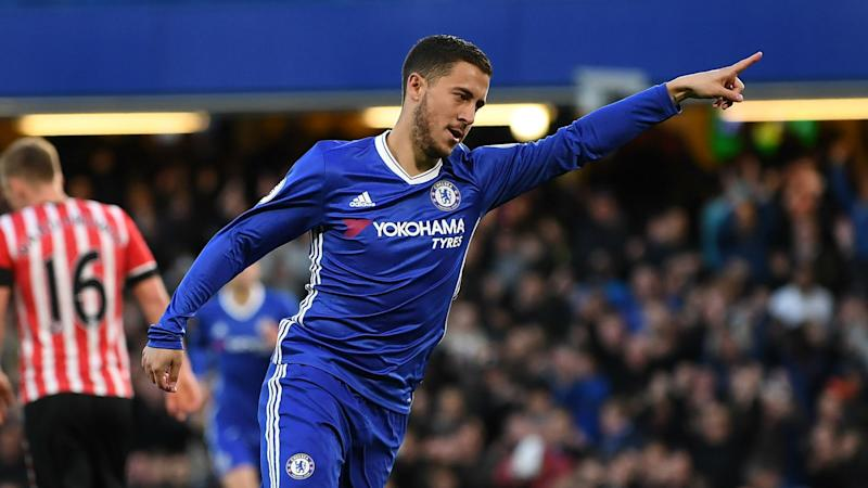'He's a fantastic player' - Puel praises former pupil Hazard after Chelsea defeat
