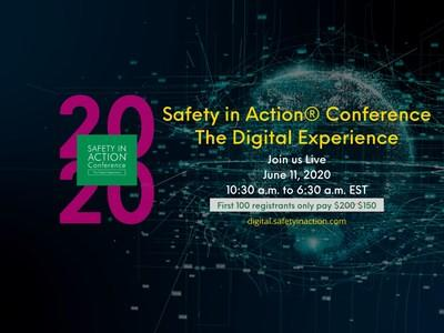 Safety in Action® Conference: The Digital Experience is the same annual safety conference that you have come to trust for over 30 years, except this year we have gone digital!