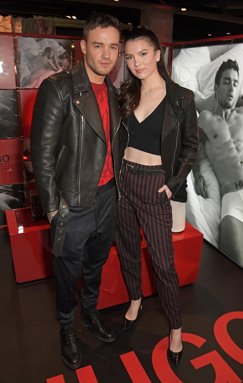 The couple at the launch of Liam's Hugo bodywear campaign (Photo: David M. Benett via Getty Images)