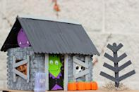 "<p>Forget the gingerbread: This miniature haunted house is equally as creative minus the crumbling cookies and gooey frosting. Parents, rejoice! </p><p><em><a href=""http://www.happilyeverlyafter.com/2013/10/popsicle-stick-haunted-house.html"" rel=""nofollow noopener"" target=""_blank"" data-ylk=""slk:Get the tutorial at Happily Everly After »"" class=""link rapid-noclick-resp"">Get the tutorial at Happily Everly After »</a></em></p>"