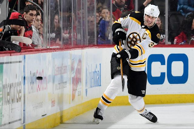 The 41-year-old Chara will make $5 million next season.