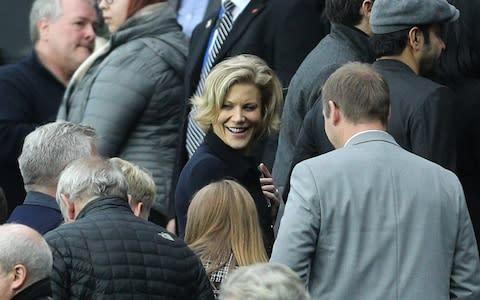 <span>PIF is part of a group of investors which has been organised by the British financier Amanda Staveley (centre)</span> <span>Credit: pa </span>