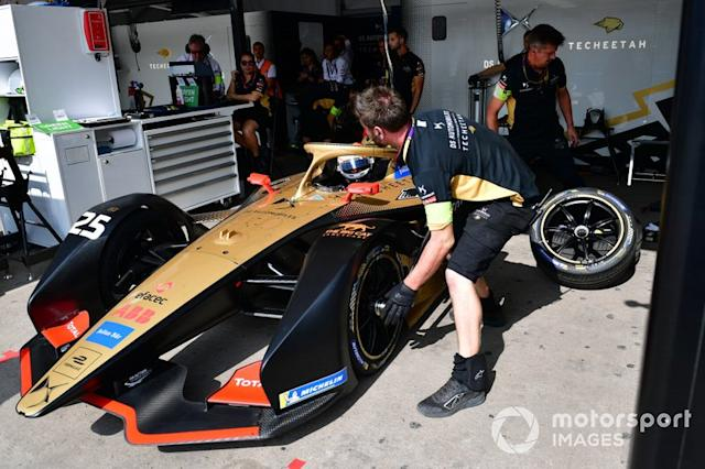 "Jean-Eric Vergne, DS Techeetah, DS E-Tense FE20 <span class=""copyright"">Simon Galloway / Motorsport Images</span>"