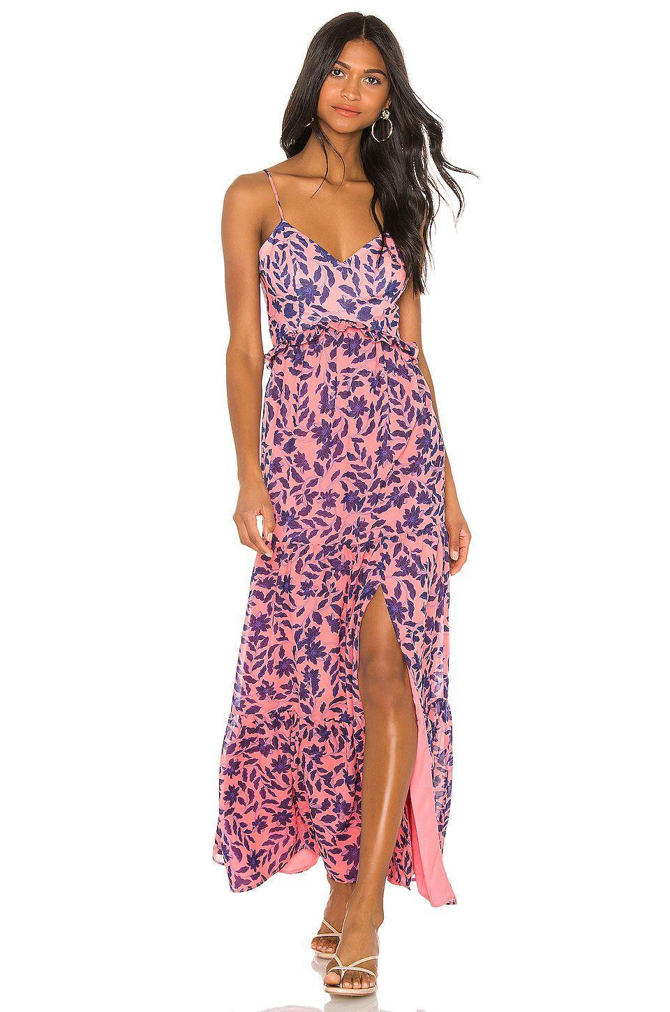 """<p><strong>House of Harlow 1960</strong></p><p>revolve.com</p><p><strong>$218.00</strong></p><p><a href=""""https://go.redirectingat.com?id=74968X1596630&url=https%3A%2F%2Fwww.revolve.com%2Fdp%2FHOOF-WD497%2F&sref=https%3A%2F%2Fwww.goodhousekeeping.com%2Fbeauty%2Ffashion%2Fg31811906%2Fcute-summer-outfits%2F"""" rel=""""nofollow noopener"""" target=""""_blank"""" data-ylk=""""slk:Shop Now"""" class=""""link rapid-noclick-resp"""">Shop Now</a></p><p>Florals will never stop looking fresh for summer. Look for smaller prints in bright colors to make your outfit standout. </p>"""