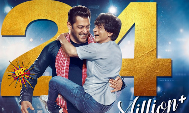Shah Rukh Khan And Salman Khan's Song Issaqbaazi Is Breaking Records And How