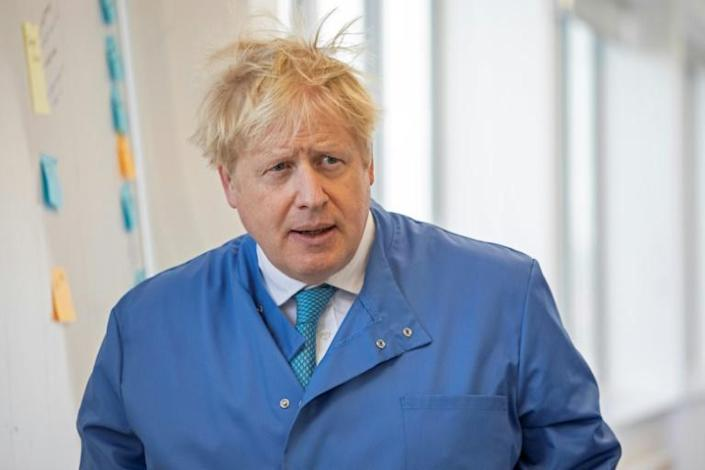 Johnson is the most high-profile world leader to suffer from the coronavirus (AFP Photo/Jack Hill)