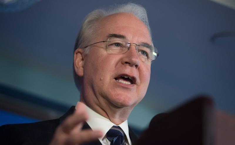 Tom Price resigned as secretary of Health and Human Services after Politico reported he had been taking private jets for government travel.