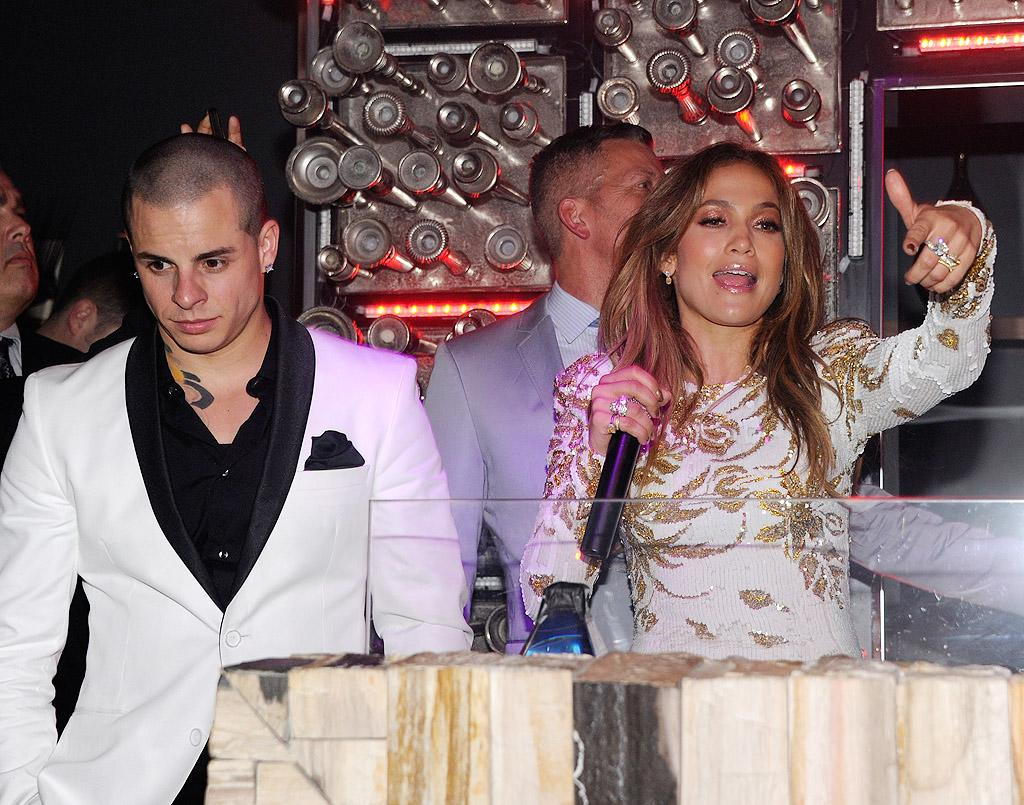 "Jennifer Lopez and Casper Smart's relationship is ""cooling off,"" reveals <i>People.</i> The mag explains that after stories surfaced about Smart going to a ""gay sex club"" in New York, J. Lo's become ""frustrated with him"" and ""short-tempered when she's around him."" For whether she's going to dump her younger beau, see what a Lopez insider admits to <a target=""_blank"" href=""http://www.gossipcop.com/jennifer-lopez-casper-smart-breaking-up-splitting-fighting-problems-august-2012/"">Gossip Cop</a>."