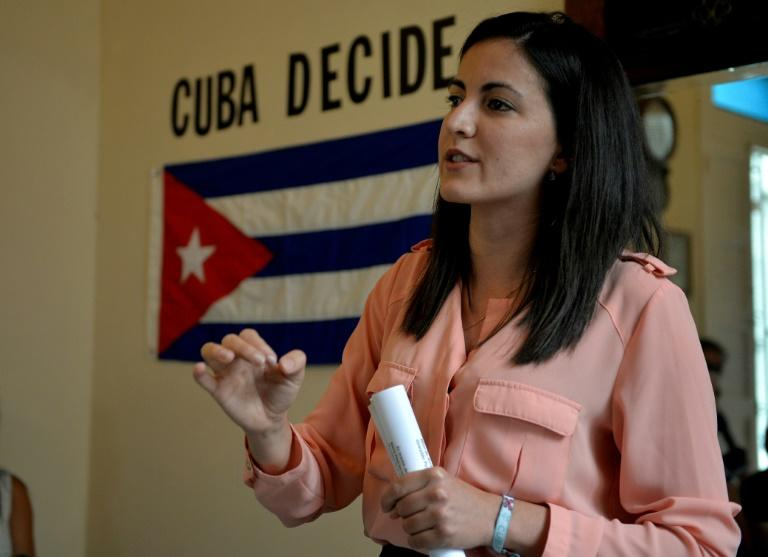 The daughter of late Cuban dissident Oswaldo Paya, Rosa Maria Paya, is just one of several opposition leaders seeking a new way to bring about change