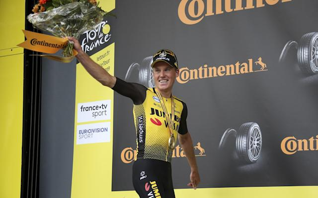 Against all odds, Mike Teunissen took the first yellow jersey at the Tour de France - 2019 Jean Catuffe